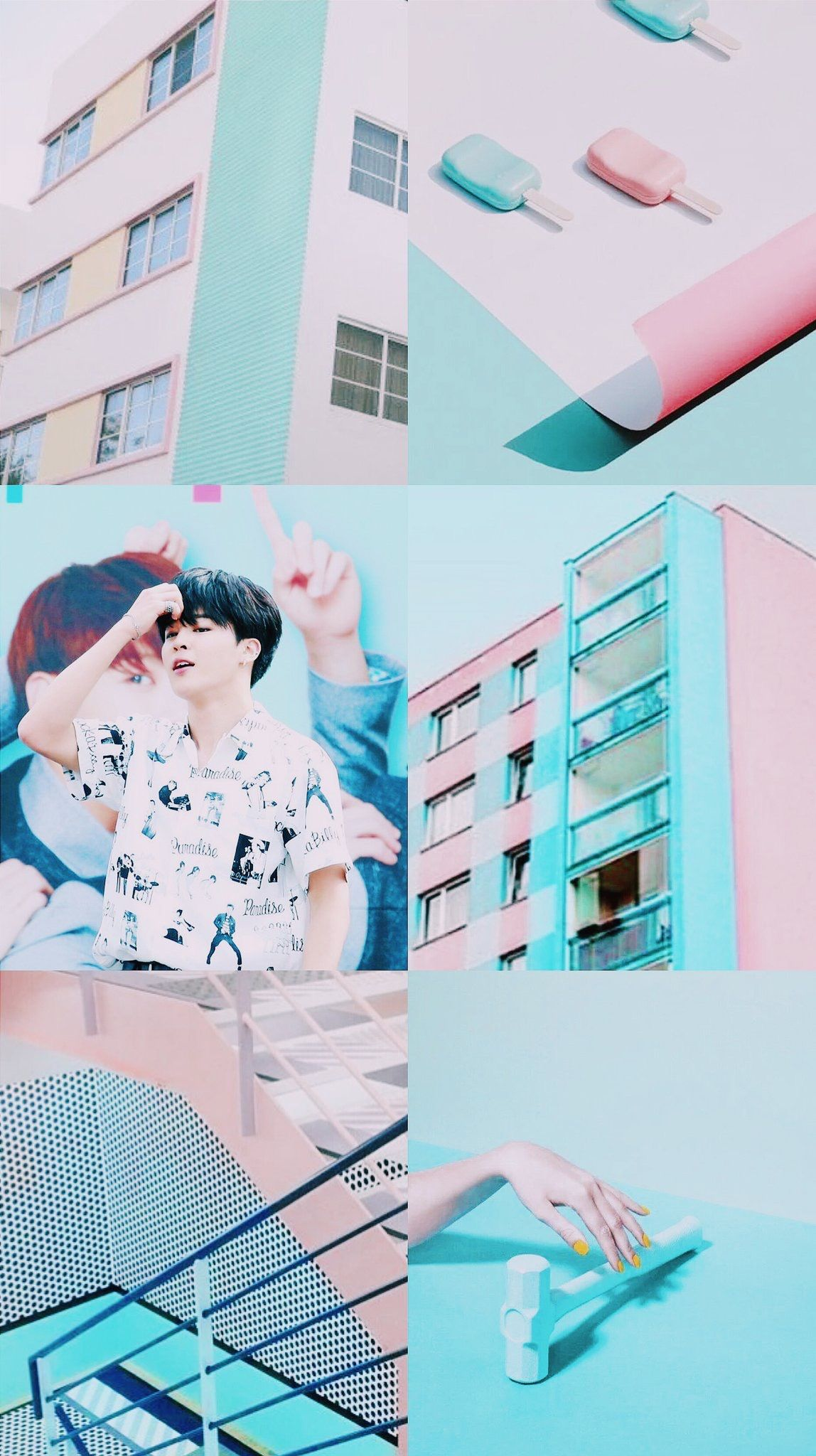 Bts V Aesthetic Wallpaper Hd
