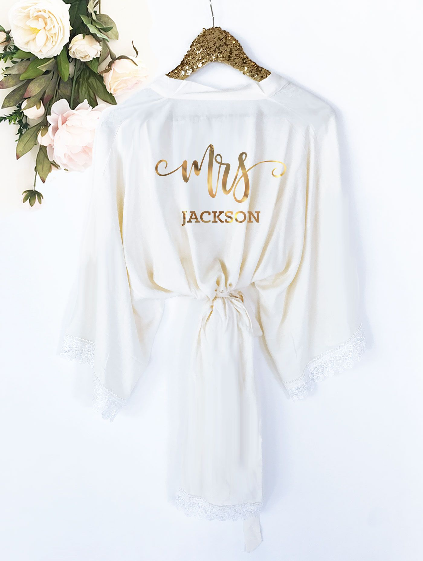 mrs robe personalized bride robe wedding pros board 2