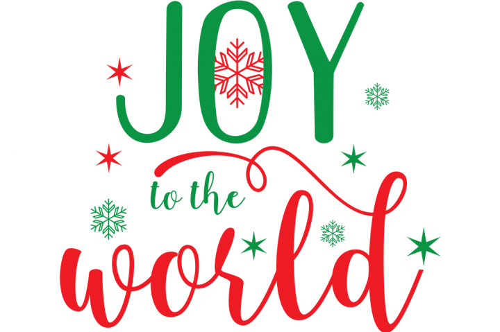 Joy To The World SVG By Cinnamon&Lime