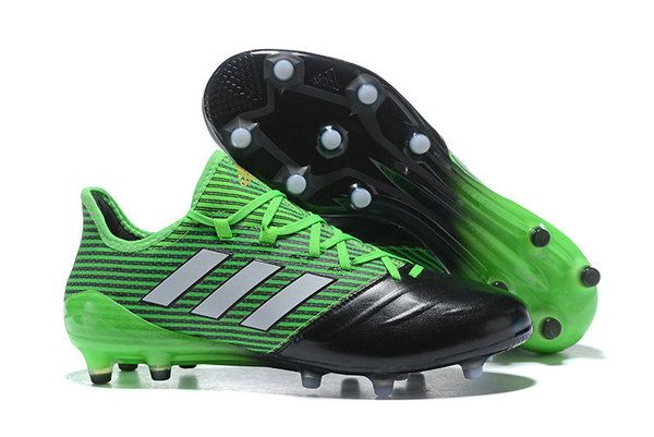 quality design 90fed 1f369 Adidas Ace 17 1 Leather Fg Football Boots Green Black White Purchase Sneaker