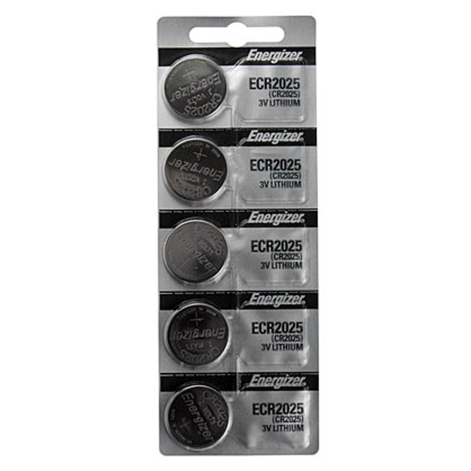 Cr2025 Energizer Lithium Batteries 1 Pack Of 5 Energizer Button Cell Energizer Battery