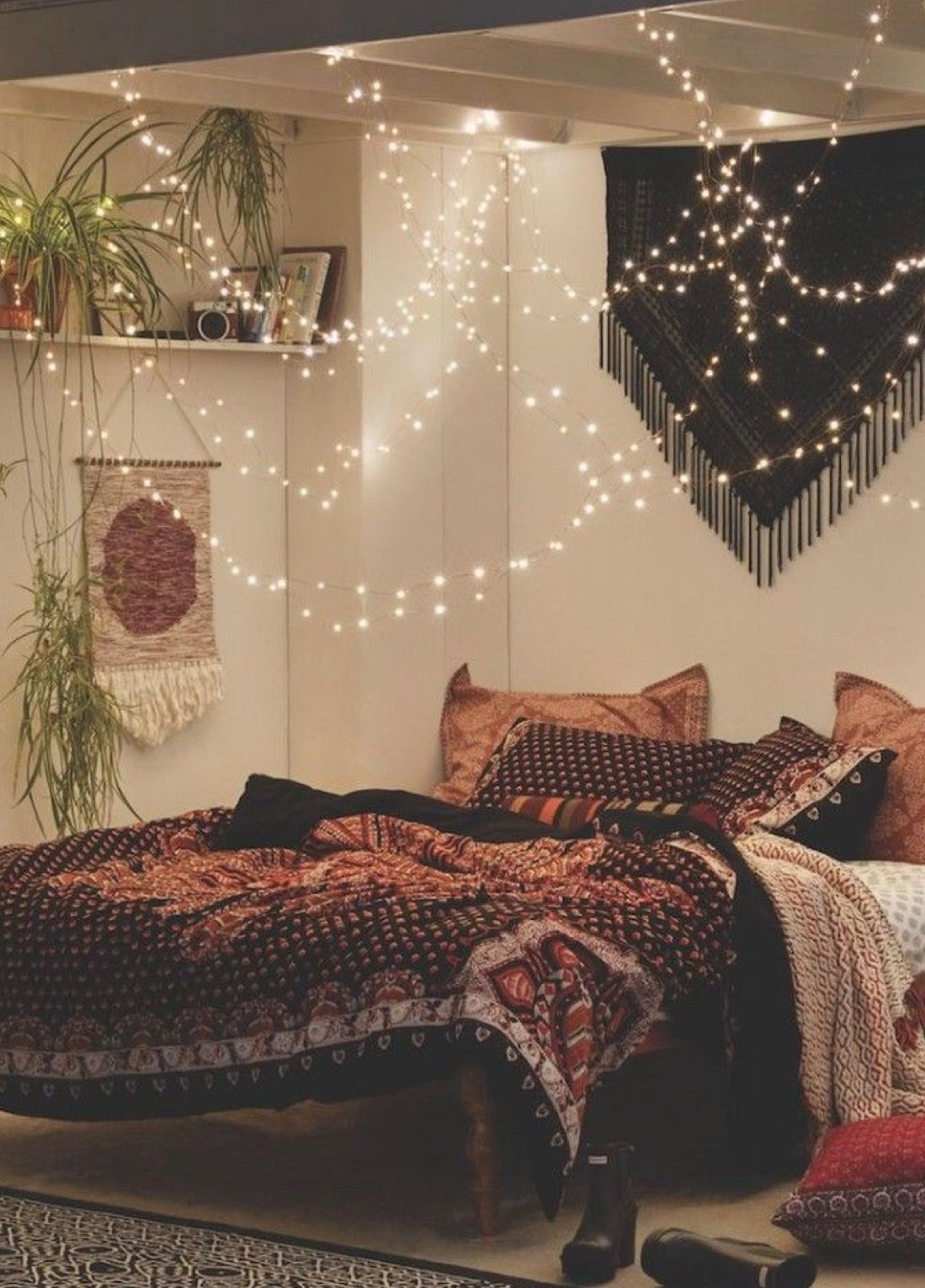 above bed lighting. Fairy Lights Above Bed Lighting