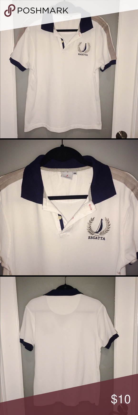 Regatta sport mens polo shirt Regatta Sport mens polo shirt. Size M. Good condition. Regatta Shirts Polos