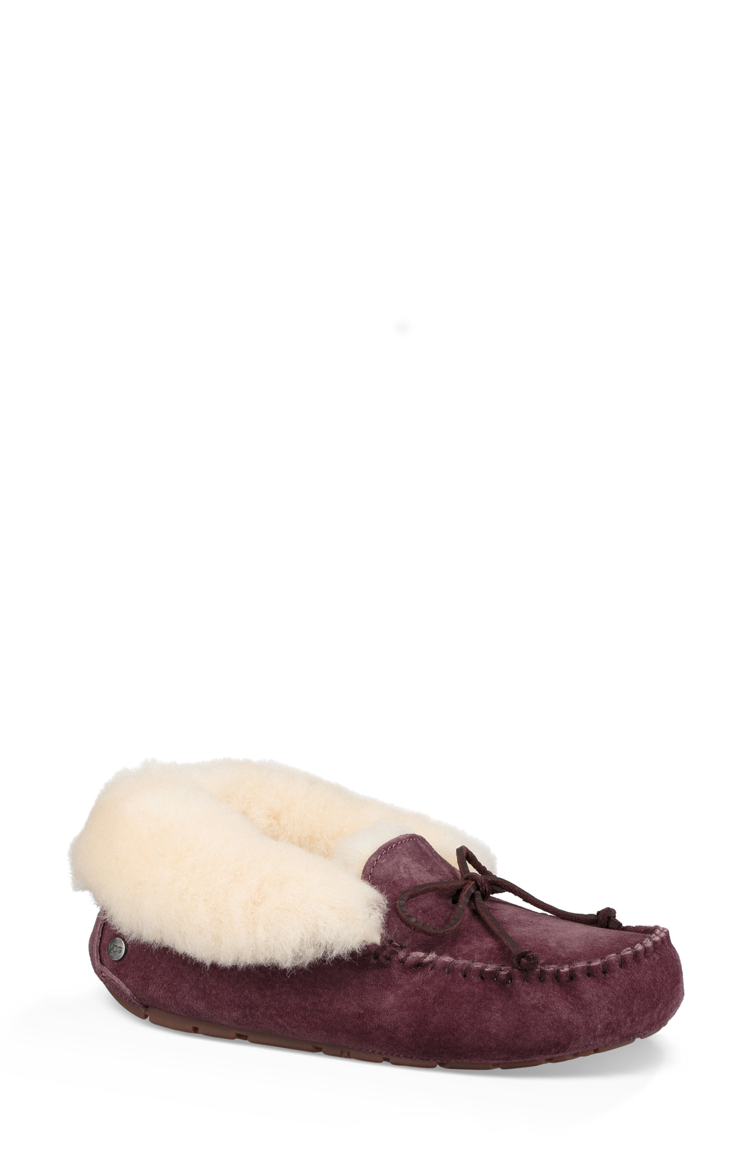 e9c5d13ae80 GREY, Size 7 UGG® UGGpure™ Alena Suede Slipper Bootie available at ...