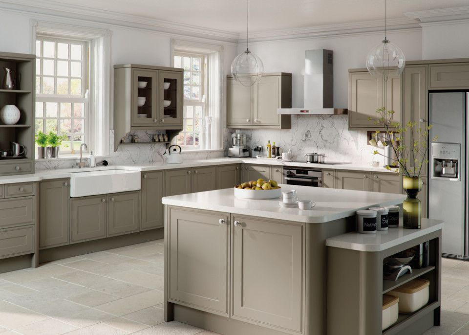 MattStoneGreyTullymoreKitchenjpg Kitchen Pinterest - Stone grey kitchen cabinets