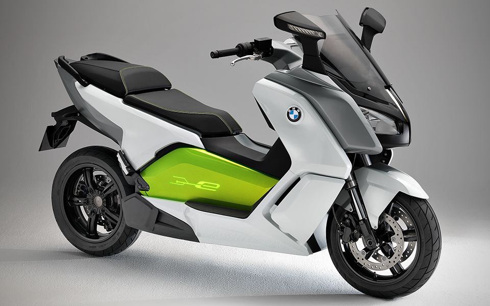 BMW C evolution Scooter Bimmer's electric scooter 120