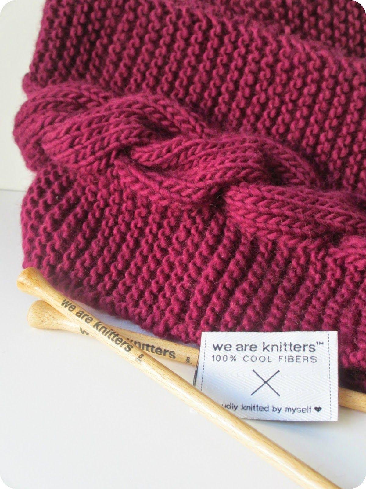 DIY : Ultimate snood à partir d'un kit de tricot We Are ...