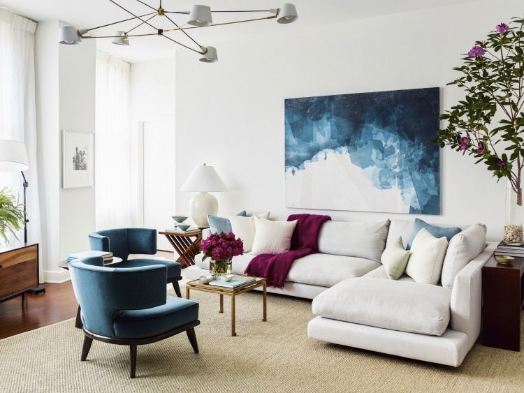Ray Booth Evocative Interiors Design Chic Painted Living Room Furniture Interior Design New Living Room #painted #living #room #furniture