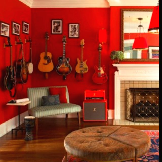 Functional Decor Music Room A Must Industrial Home Pinterest Music Rooms Living Rooms