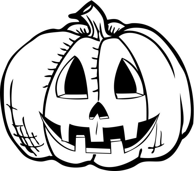 drawings of halloween pictures | Halloween pumpkin drawing « CBS ...