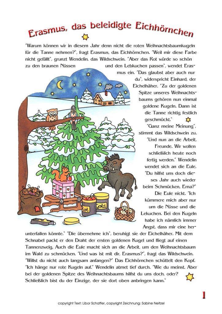 Weihnachtsgeschichte Mit Tieren