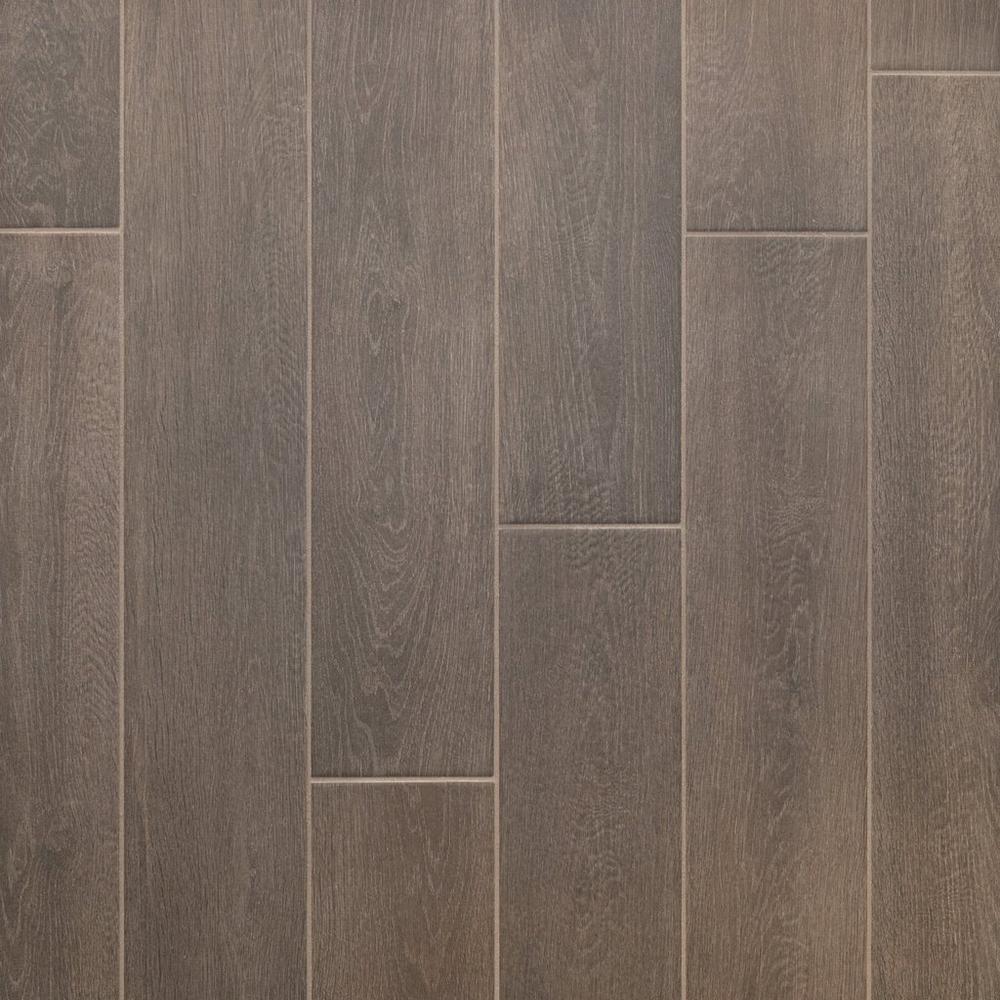 Ridgewood espresso wood plank porcelain tile wood planks ridgewood espresso wood plank porcelain tile 6in x 36in 100486505 floor dailygadgetfo Images