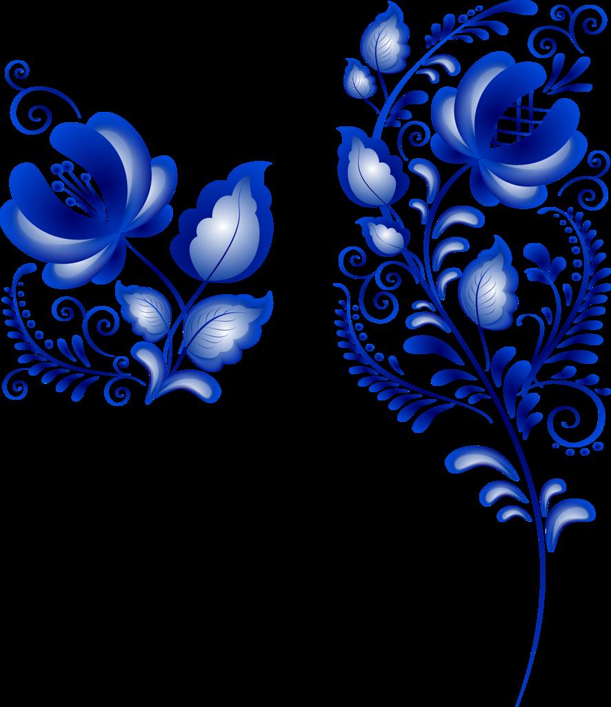 временем гжель картинки цветки свечной колодец