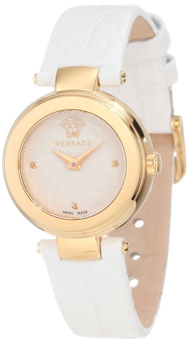 7e5513a6c3 women watches Best white watches online Versace Watch, Women's Swiss ...