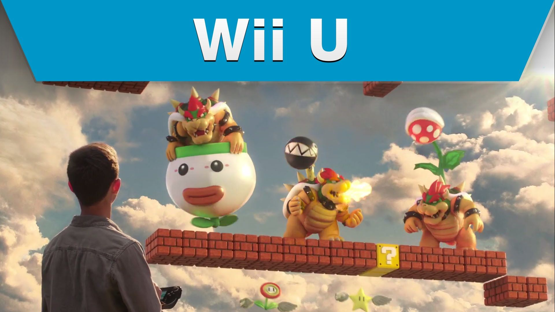 Wii U Game Trailer : This trailer has me pumped to play super mario maker for