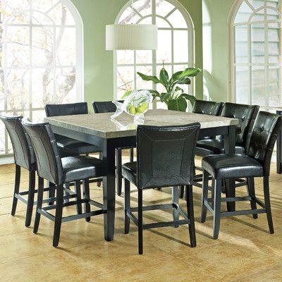 Steve Silver Furniture Monarch 9 Piece Dining Set Reviews Wayfair Furniture Accessories