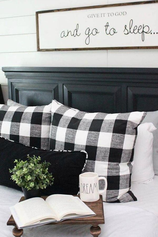 Use Buffalo Check To Create A Warm And Cozy Feeling In Your Home During The Fall Winter Months It Is Perfect Modern Farmhouse Decor