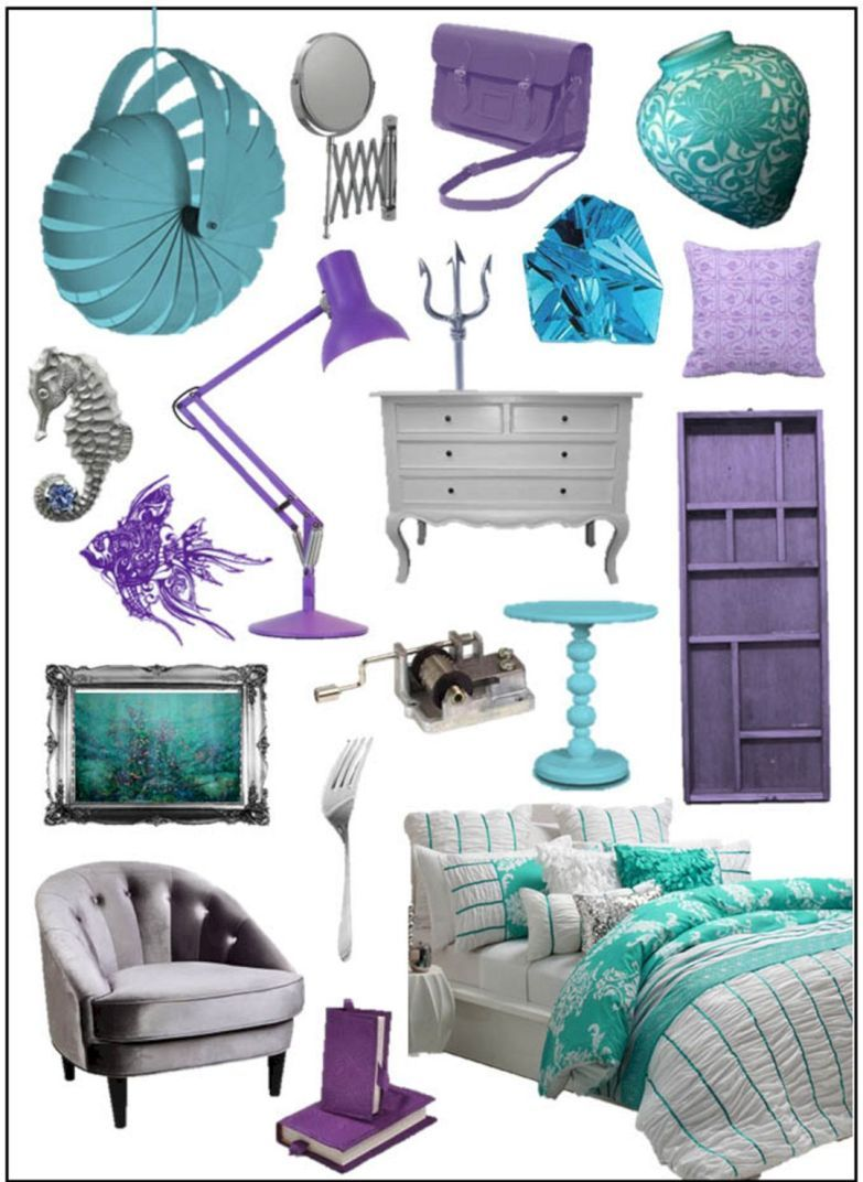 35+ Best and Marvelous Mermaid Room Decorations Ideas for Your Home Need to Apply images