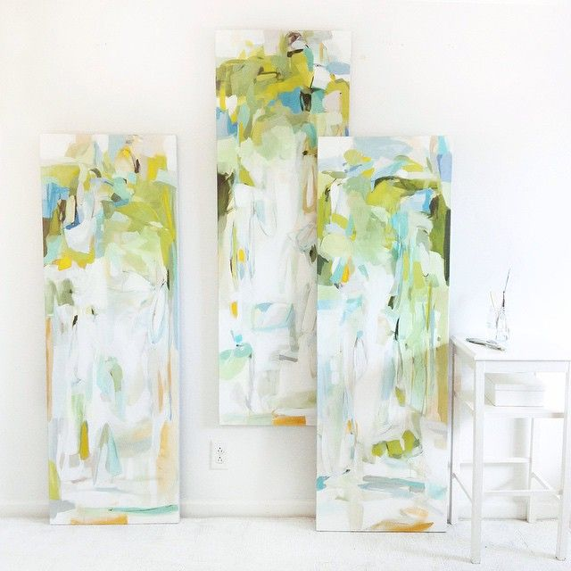 Web site updated with my new work via @greggirbygallery !! Oh, I'm pulling my watercolors back out next week! #christinabaker