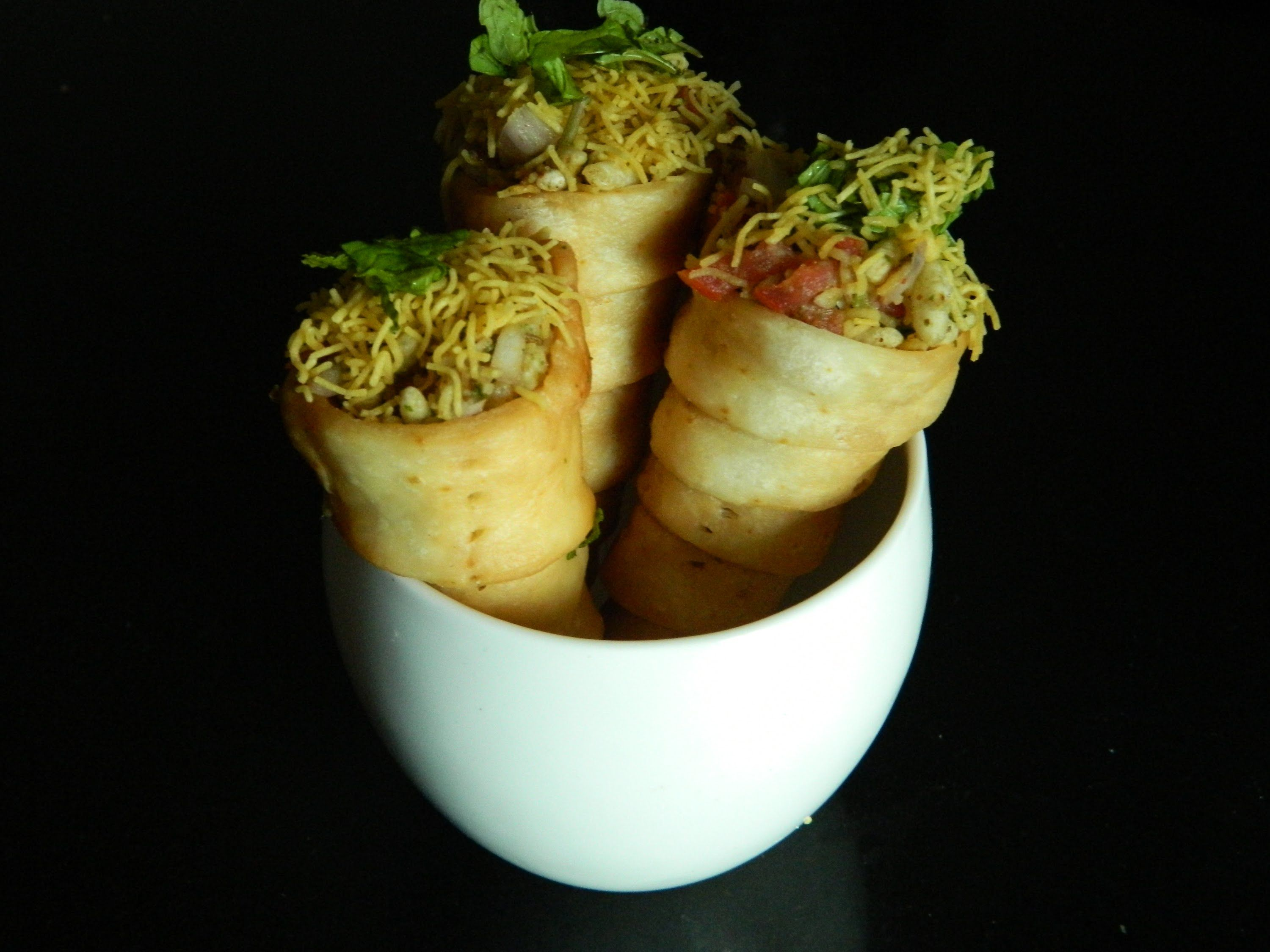 Typical indian street food chaat served in a new way chaat is typical indian street food chaat served in a new way chaat is forumfinder Images