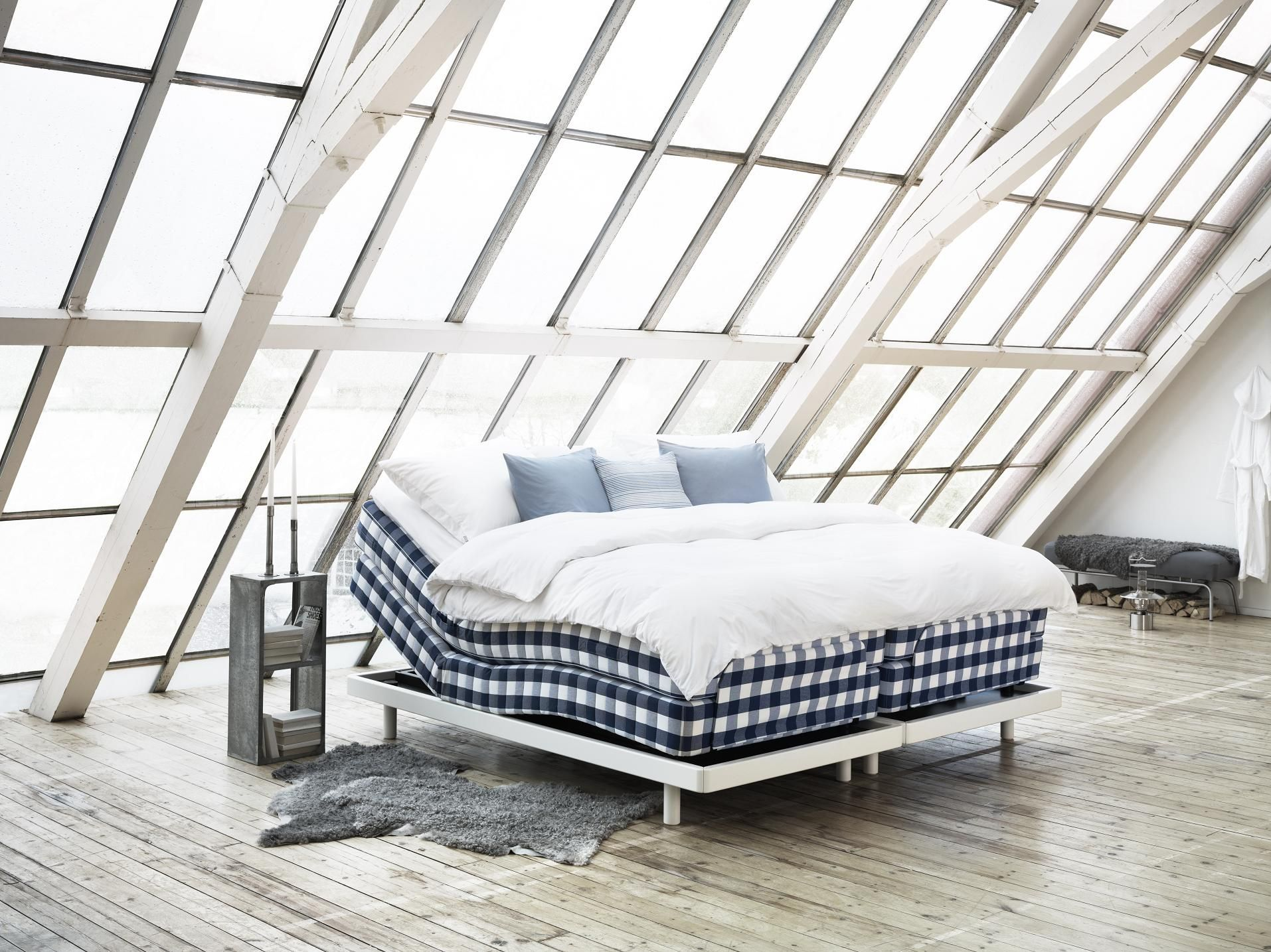 The Adjustable Bed Hastens Lenoria Is One Of Our Most Comfortable A Combination Of Precision Engineering And Adjustable Beds Furniture Luxury Bedroom Design