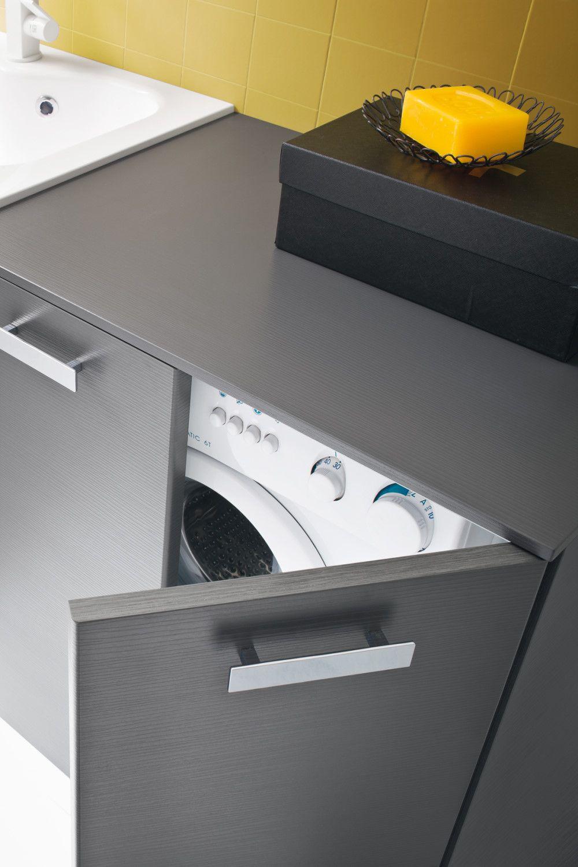 Waschmaschinenschrank Fur Badmobel Der Serie Atlantic Diotti Com