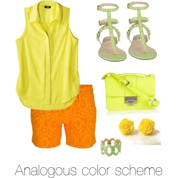 Yellow Orange Green YellowColor SchemesBook