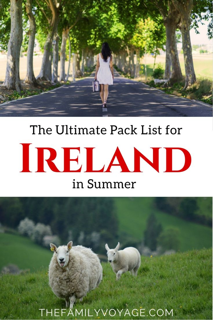 Summer Travel Capsule Wardrobe: What to Pack for Ireland in June