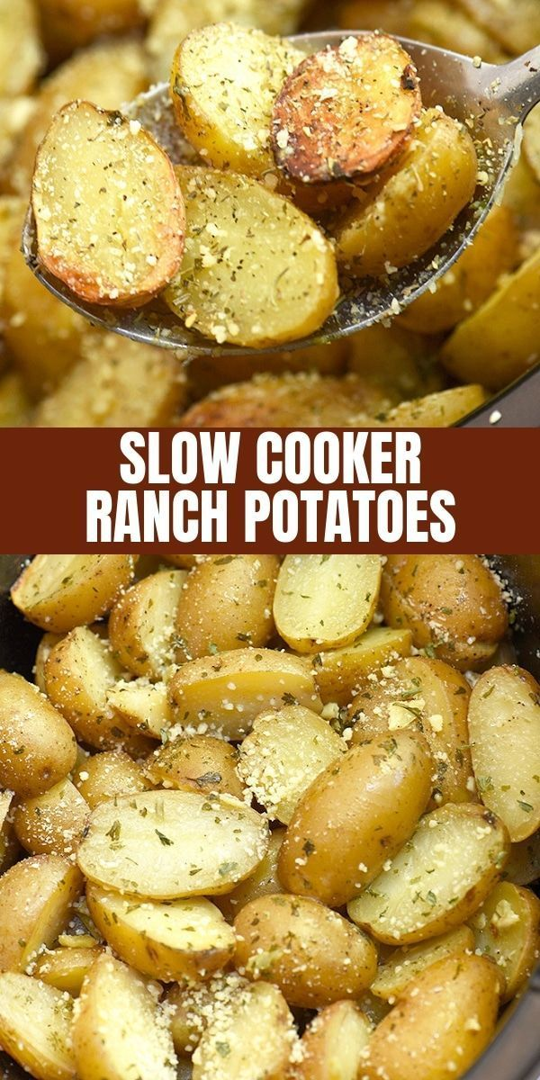 Photo of Slow Cooker Ranch Potatoes are hearty, tasty, and so easy to make in the crockpo…