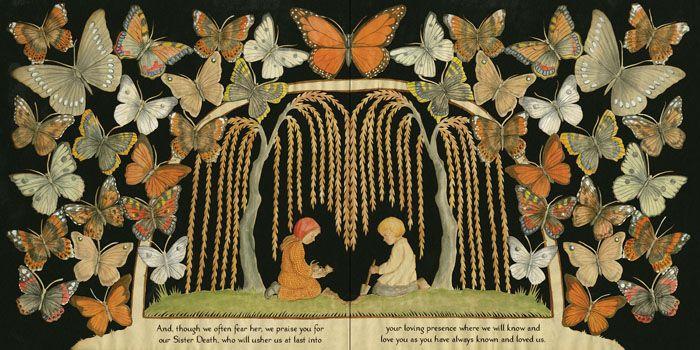 wrinkle me deep, o loved one - beautifulcut paper illustrations by Pamela Dalton...