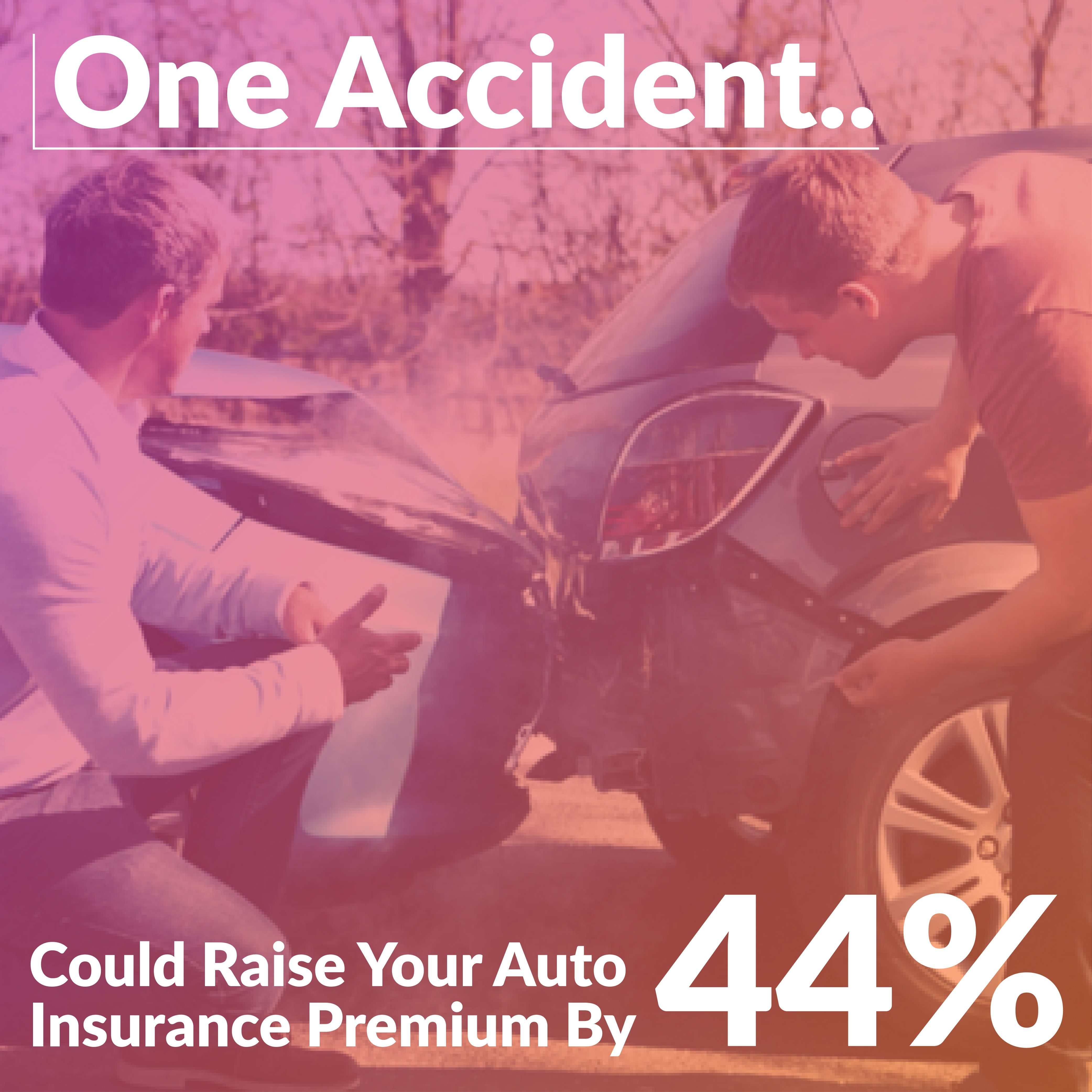 Filing an AutoInsurance claim of at least 2,000 will on