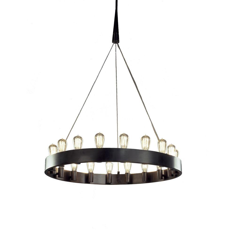 Robert Abbey Lighting 18 Light Vintage Style Chandelier Z2091 1450 720 W