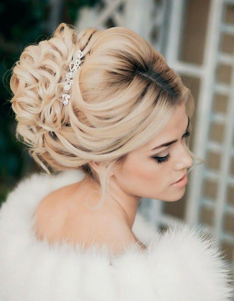 Épinglé par Beata Q sur Bridal Hair Chignon mariage