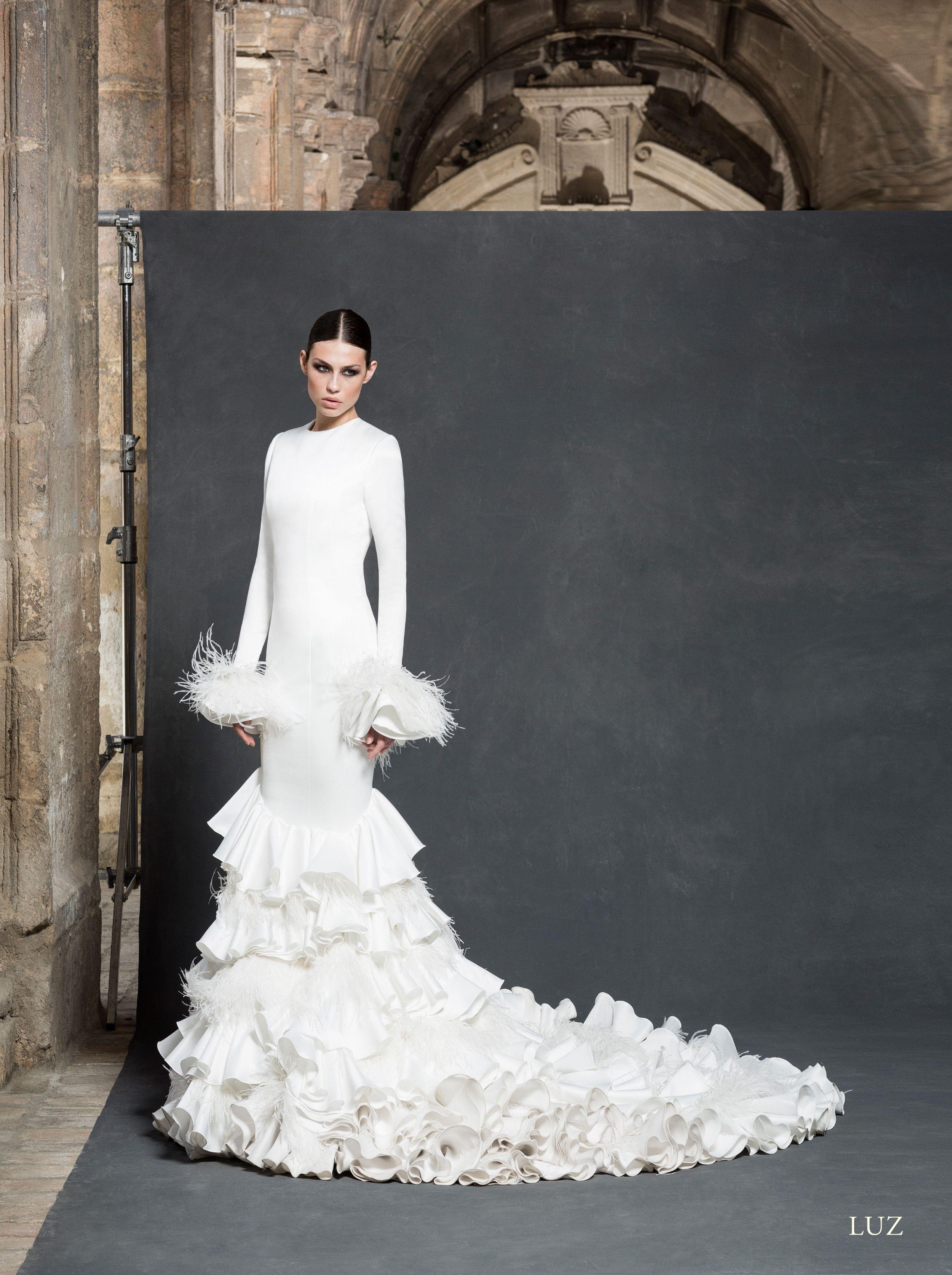 Vestidos de novia ultima moda 2016