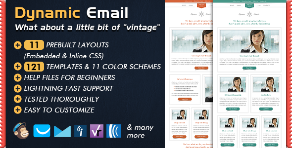 Dynamic  Email Template  Template Newsletter Templates And