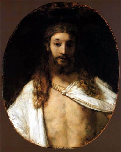 Rembrandt Harmenszoon van Rijn (Dutch 1606–1669) [Dutch Golden Age, Baroque] Christ, 1661.
