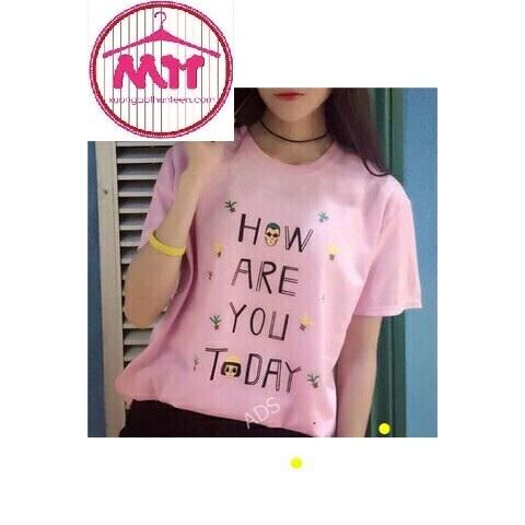 Mẫu How are you - Sỉ 30k