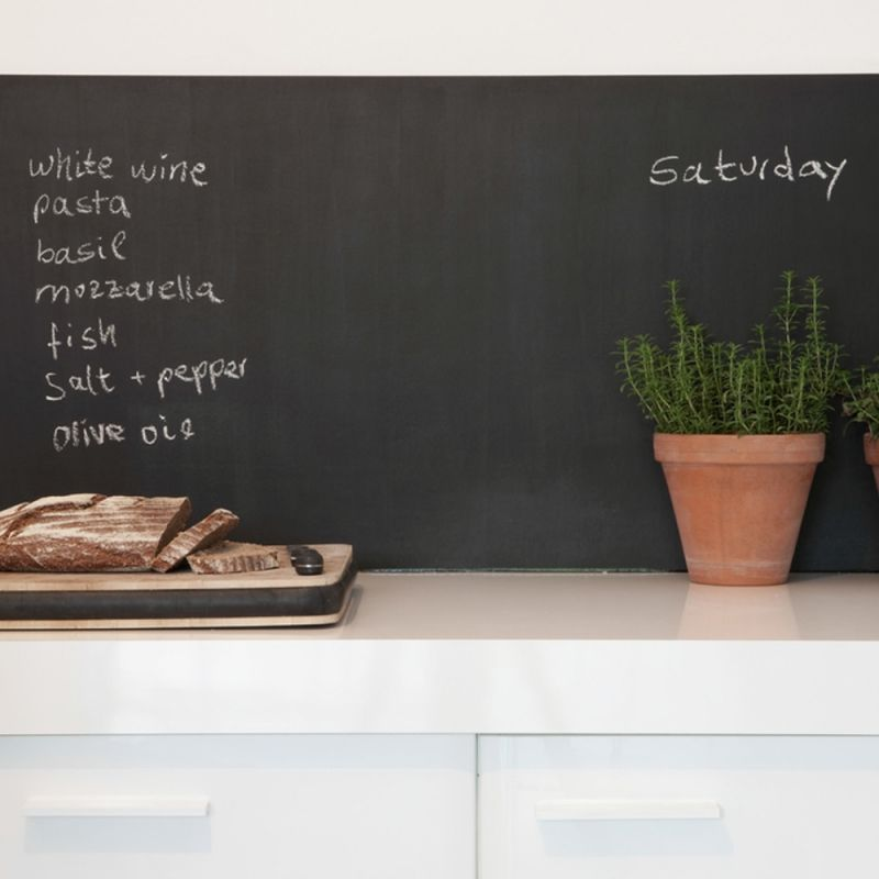Ardoise adhésive sur-mesure Adhesive, Kitchens and Interiors