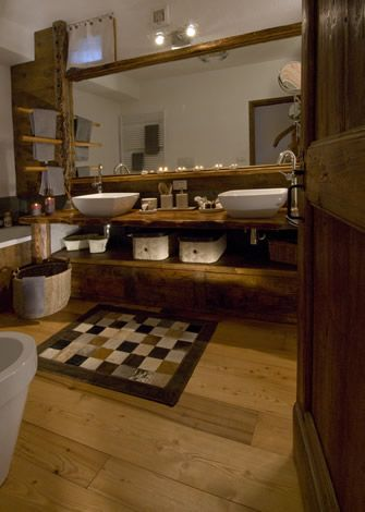 Pin by Cristina on bagni in chalet | Pinterest | Spa bathrooms