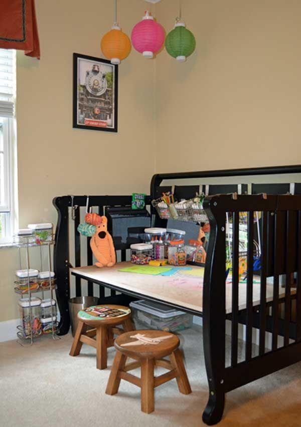 Top 30 Fabulous Ideas To Repurpose Old Cribs Old Baby Cribs Diy Crib Cribs Repurpose