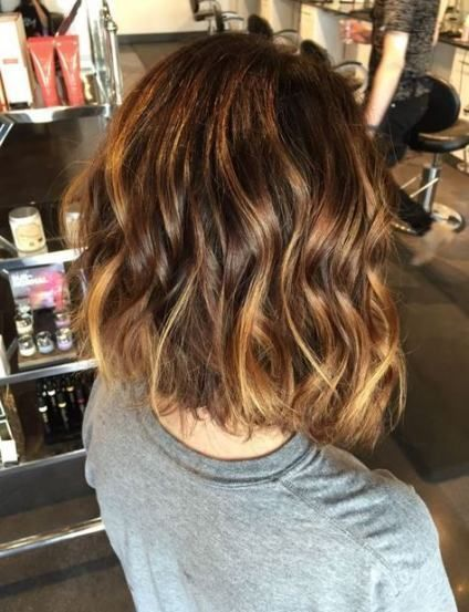 24 New Ideas chocolate brown hair with carmel fall balayage highlights    trave …