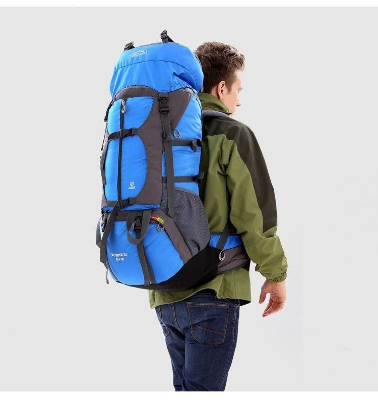 Hiking Trekking Travel Backpacking Backpack Rucksack Lightweight Waterproof 65 L