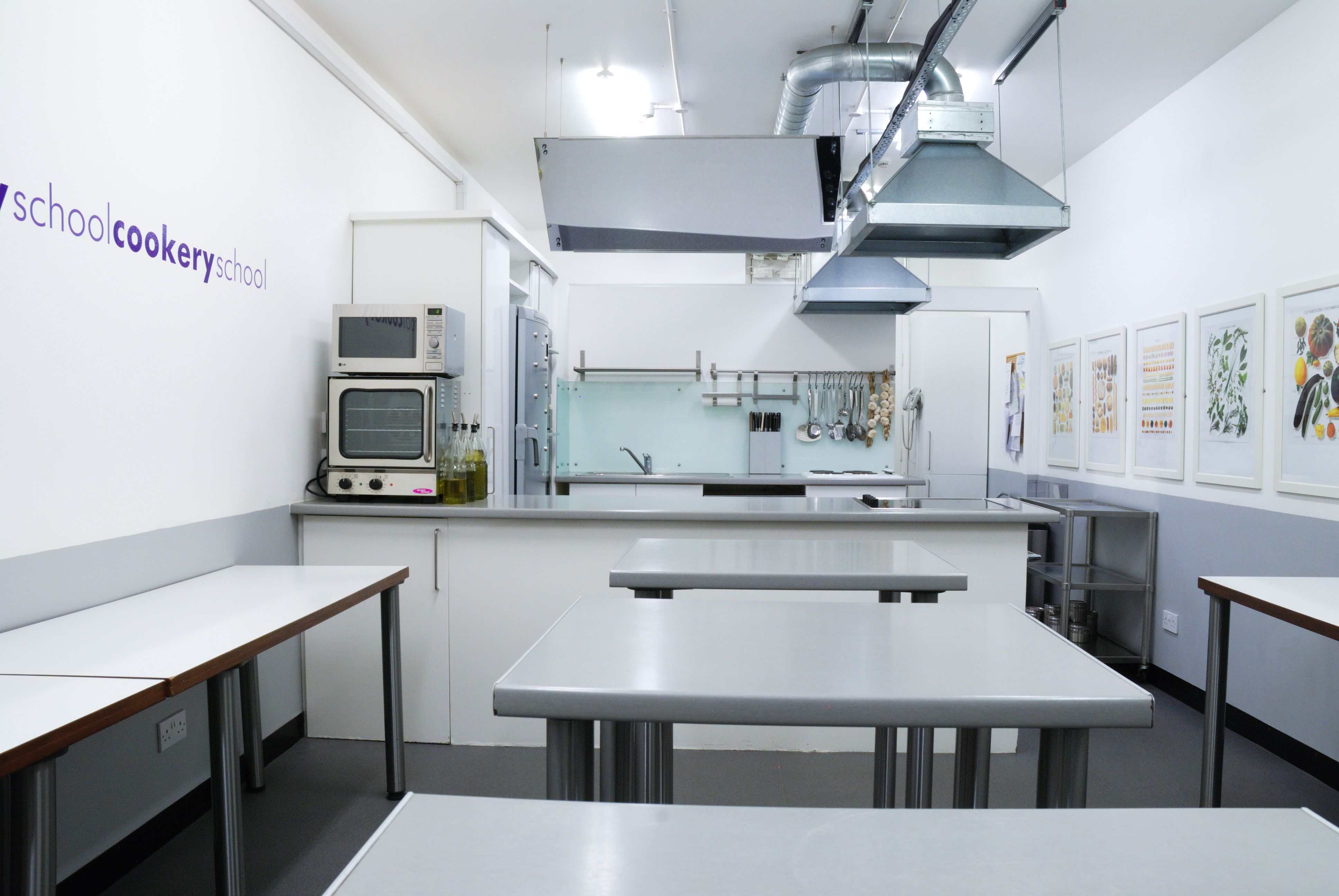 We have two central London kitchens available for corporate events ...