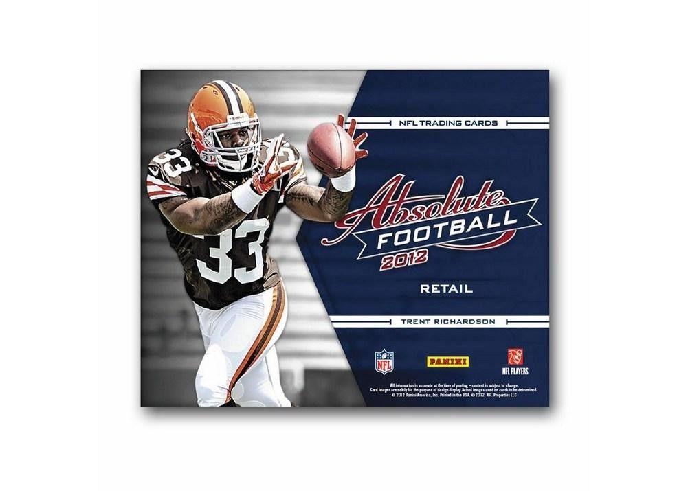 2012 Panini Absolute Football (Retail) Football