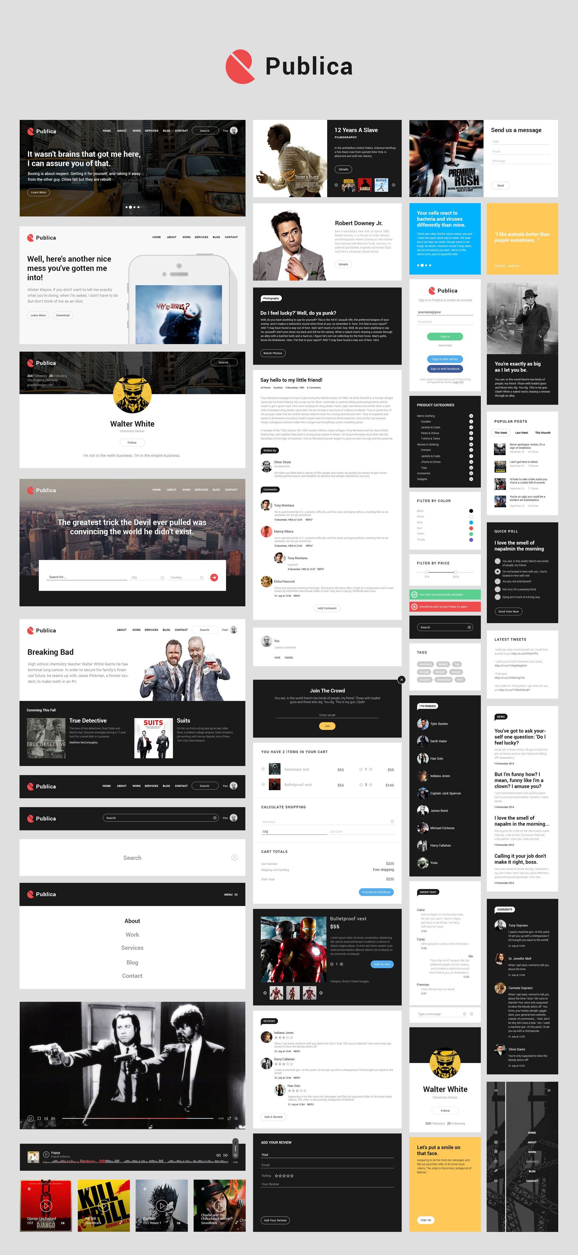 Infographics Ui Design Et Web Design: Pin On UI Kits / Elements