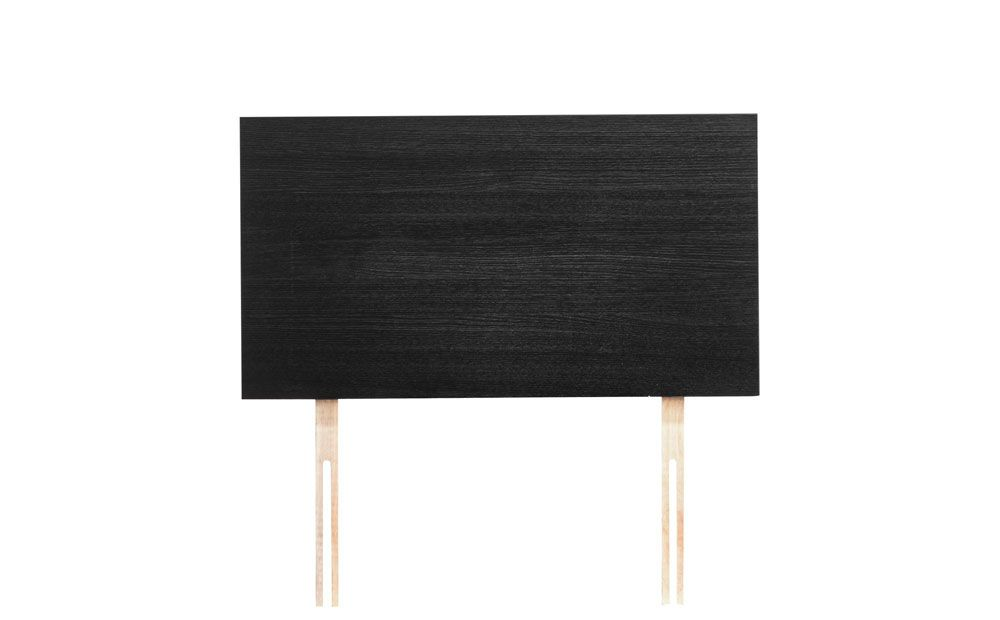 Modern Collection Single Headboard - White & Black Oak Only £79.99 | Furniture Choice