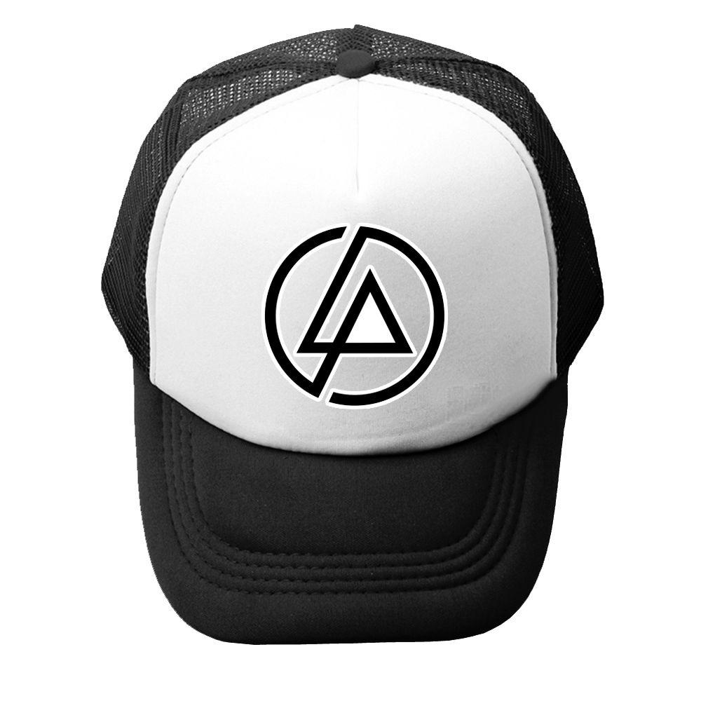 076d397133f iDzn Summer Unisex Men Women Baseball Caps Linkin Park Rock Band Logo  Design Chester Bennington Mesh Caps Adjustable Sport Hat