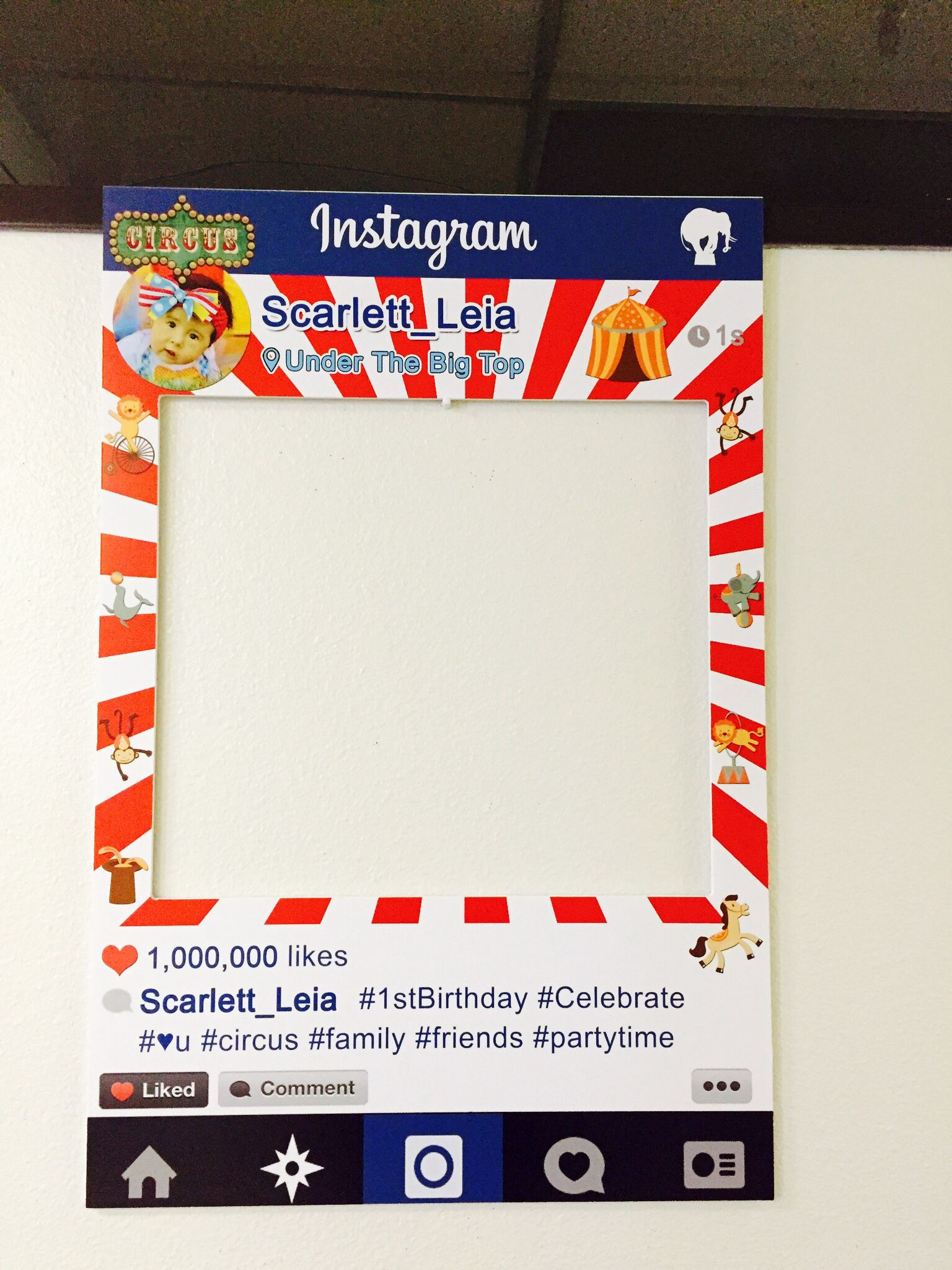 Custom Instagram frames get you or your business noticed. Circus ...