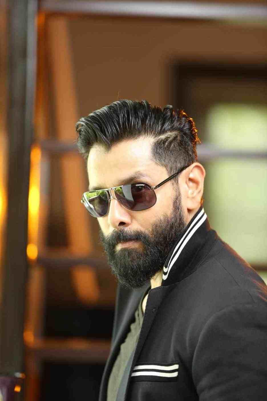 Hairstyles For Men Indian Actor Hotttie In Sunglasses Beard
