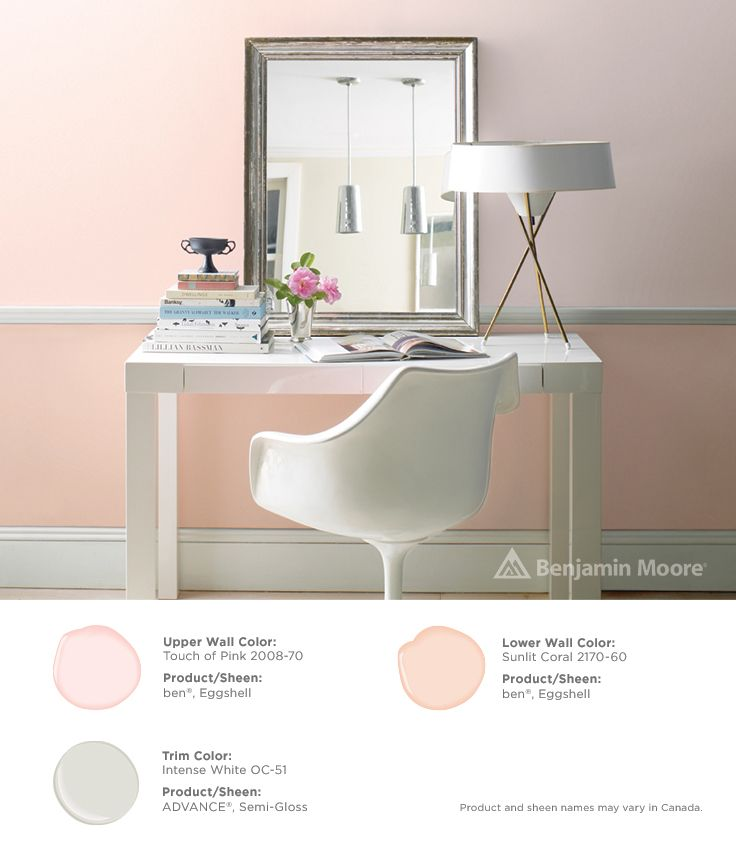 Paints Amp Exterior Stains Pink Accent Walls Benjamin